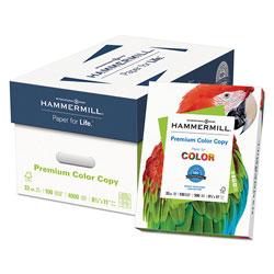 Hammermill Premium Color Copy Print Paper, 100 Bright, 32lb, 8.5 x 11, Photo White, 500/Ream
