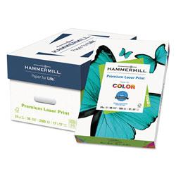 Hammermill Premium Laser Print Paper, 98 Bright, 24lb, 11 x 17, White, 500/Ream