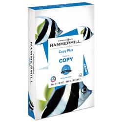 Hammermill Copy Plus Print Paper, 92 Bright, 20 lb, 8.5 x 14, White, 500/Ream