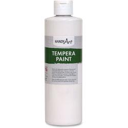 Handy Art Tempera Paint, 16oz., White