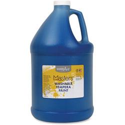 Handy Art Washable Tempera Paint, L-Mast, 1gal., Blue