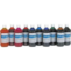 Handy Art Handy Art Washable Liquid Watercolor, 8oz., 10/ST, Assorted
