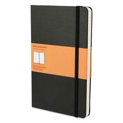 Moleskine Hard Cover Notebook, Narrow Rule, Black Cover, 8.25 x 5, 192 Sheets