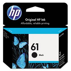 HP 61, (CH561WN) Black Original Ink Cartridge