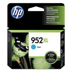 HP 952XL, (L0S61AN) High Yield Cyan Original Ink Cartridge