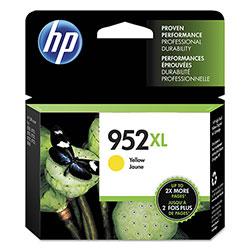 HP 952XL, (L0S67AN) High Yield Yellow Original Ink Cartridge