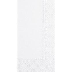 Hoffmaster Dinner Napkins, 2-Ply, 15 x 17, White, 1000/Carton