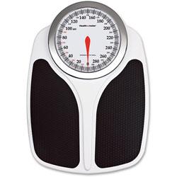 Health-O-Meter Professional Dial Scale, 400lb Cap, 17.9 in x 12.8 in x 3.7 in, BK/WE