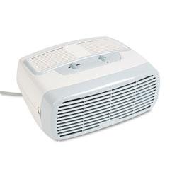 Holmes 99% HEPA Desktop Air Purifier, 110 sq ft Room Capacity, White
