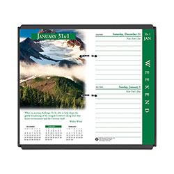 House Of Doolittle Earthscapes Desk Calendar Refill, 3.5 x 6, 2021