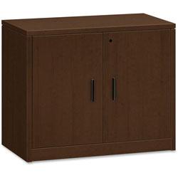 Hon 2-Door Storage Cabinet, 36 in x 20 in x 29-1/2 in, Mocha