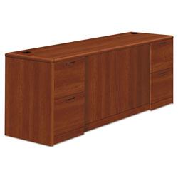 Hon 10700 Series Credenza w/Doors, 72w x 24d x 29.5h, Cognac