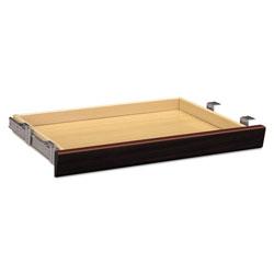 Hon Laminate Angled Center Drawer, 26w x 15.38d x 2.5h, Mahogany