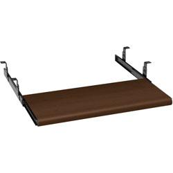 Hon Keyboard Platform, Laminate, 21-1/2 in x 10 in x 1-1/8 in, Mahogany