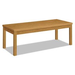 Hon Laminate Occasional Table, Rectangular, 48w x 20d x 16h, Harvest
