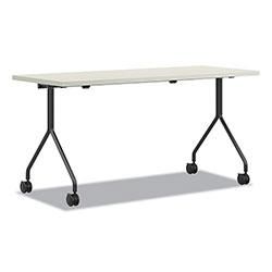 Hon Between Nested Multipurpose Tables, 48 x 24, Silver Mesh/Loft