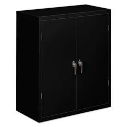 Hon Assembled Storage Cabinet, 36w x 18 1/8d x 41 3/4h, Black