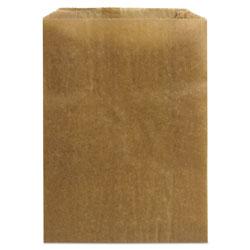 Hospeco 260 Kraft Waxed Paper Sanitary Napkin Receptacle Liners