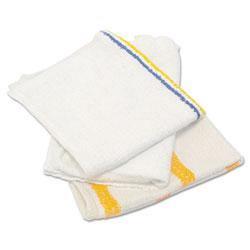 Hospeco Value Counter Cloth/Bar Mop, White, 25 Pounds/Bag