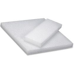 Hygloss Styrofoam Blocks, 4 in x 12 in, 12/PK, White
