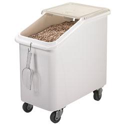 Cambro Ingredient Bin 27 Gallons Slant Top White