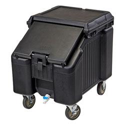 Cambro Ice Caddy 100 Pound Capacity 4 Front Swivel 1 Brake Black
