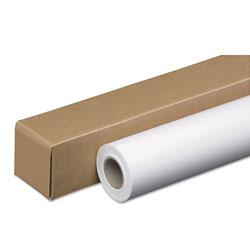 Iconex Amerigo Wide-Format Paper, 2 in Core, 24 lb, 42 in x 150 ft, Coated White