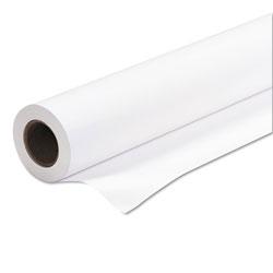 Iconex Amerigo Wide-Format Paper, 2 in Core, 24 lb, 24 in x 150 ft, Coated White