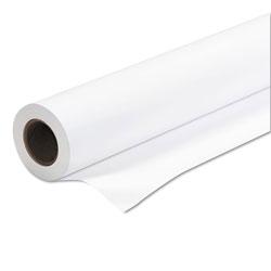 Iconex Amerigo Wide-Format Paper, 2 in Core, 24 lb, 36 in x 150 ft, Coated White