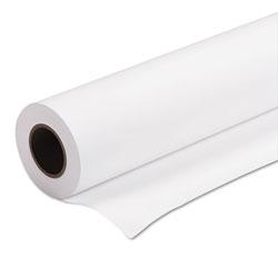 Iconex Amerigo Wide-Format Paper, 2 in Core, 35 lb, 36 in x 100 ft, Coated White