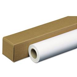 Iconex Amerigo Wide-Format Paper, 2 in Core, 35 lb, 42 in x 100 ft, Coated White