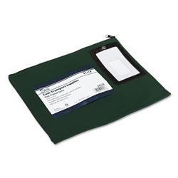 SecurIT® Flat Dark Green Transit Sack, 14w x 11h