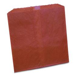 Impact Waxed Sanitary Napkin Disposal Liners, 8.1 x 06. x 9.05, Brown, 500/Carton