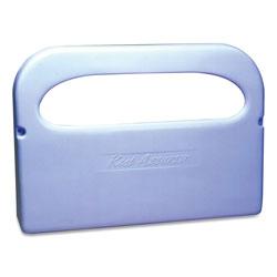 Impact Plastic 1/2 Fold Toilet Seat Cover Dispenser, 16.05 x 3.15 x 11.3, White