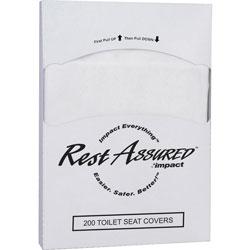 Impact Toilet Seat Covers, 1/4 Fold, 200/PK, 5000/CT, White