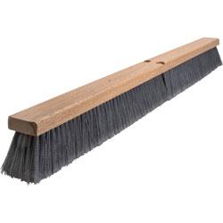 Impact Flagged Bristles Broom, 36 in, Brown