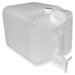 Impact E-Z Fill Container, 5 Gallon, 9.5 in x 10 in, 6/CT, Translucent