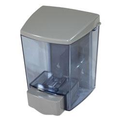 Impact ClearVu Encore Liquid Soap Dispenser, 30 oz, 4.5 in x 4 in x 6.25 in, Gray