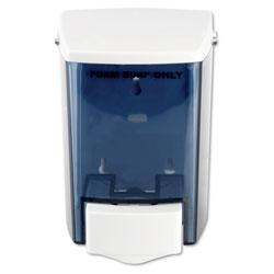 Impact Encore Foam-eeze Bulk Foam Soap Dispenser, See Thru, 900 mL, 4.5 in x 4 in x 6.25 in, White