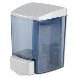 Impact Encore Bulk Foam Soap Dispenser, 30 oz, 4.5 in x 4 in x 6.25 in, Gray/Clear