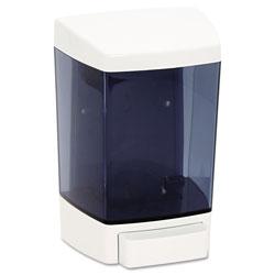 Impact Plastic Soap Dispenser, 46-oz, 5-1/2w x 4-1/4d x 8-1/2h, White