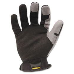 Ironclad Workforce Glove, X-Large, Gray/Black, Pair