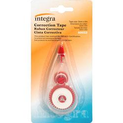Integra Correction Tape, Non-refillable, 5mm x 6m, 12/BX, White