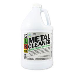 CLR Metal Cleaner, 128 oz Bottle, 4/Carton