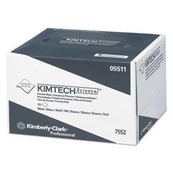Kimtech* Precision Wipers, POP-UP Box, 1-Ply, 4 2/5 x 8 2/5, White, 280/BX, 60 BX/CT