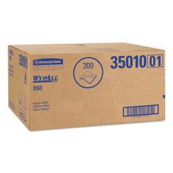 WypAll* X60 Shower Towels, 22 1/2 x 39, White, 100/Box, 3 Boxes/Carton