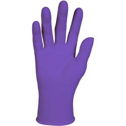 Kimberly-Clark PURPLE NITRILE Exam Gloves, 242 mm Length, Large, Purple, 1000/Carton