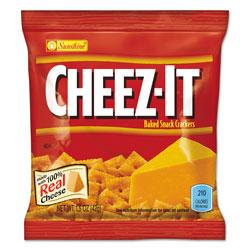 Keebler Cheez-it Crackers, 1.5 oz Bag, Reduced Fat, 60/Carton