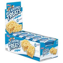 Kellogg's Rice Krispies Treats, Original Marshmallow, 1.3 oz Snack Pack, 20/Box