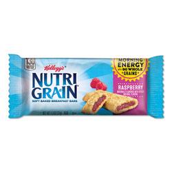 Kellogg's Nutri-Grain Soft Baked Breakfast Bars, Raspberry, Indv Wrapped 1.3 oz Bar, 16/Box